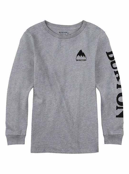 BURTON AW18 Boys Elite Ls Gray Heather