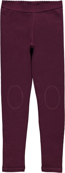 Name It Nkfwillto Wool Legging Noos Prune Purple