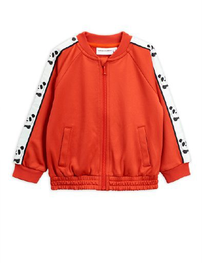 Mini Rodini AW19 Panda Wtc Jacket Red