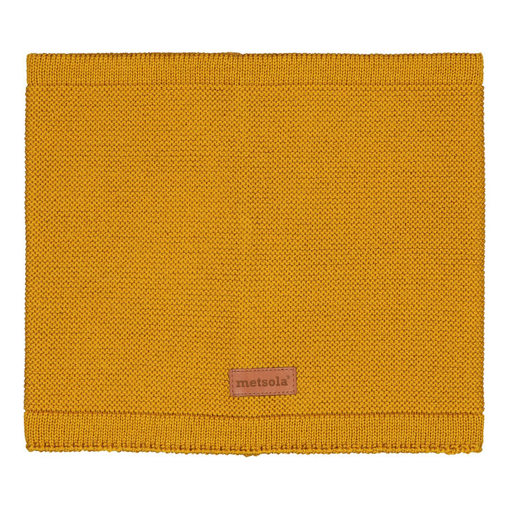 Metsola AW19 Knitted Classic Tube Scarf Sweet Honey
