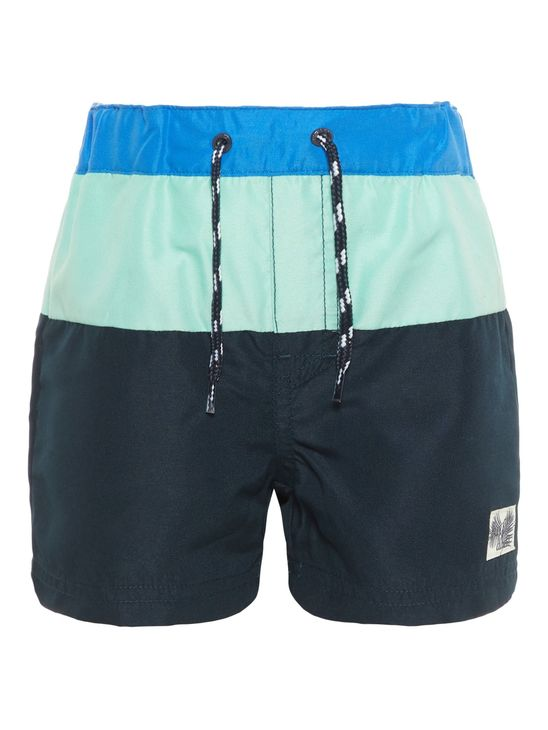 Name It Nmmzikkaz Shorts Box Ocean Wave