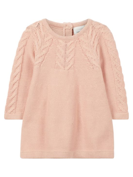 Name It Nbfobia Ls Knit Dress Rose Cloud