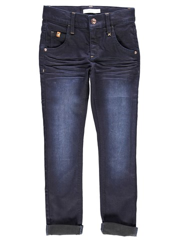 Name It Nkmsilas Dnmcomo Pant Camp Dark Blue Denim