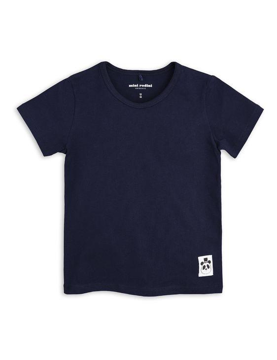 Mini Rodini SS19 Basic SS T-Shirt Navy