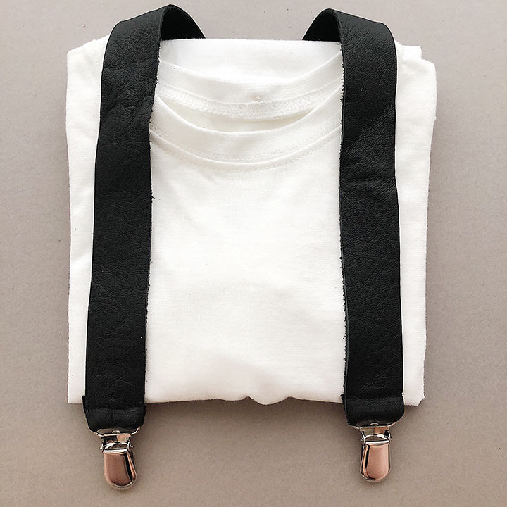 FMAM Suspenders Black