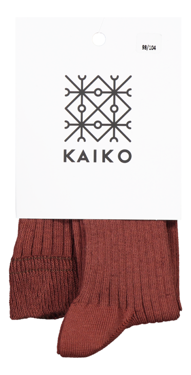 Kaiko Rib Tights Mahogany Sukkahousut