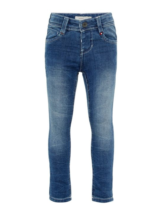 Name It Nmmtheo Dnmtobias Pant Noos Medium Blue Denim Farkut