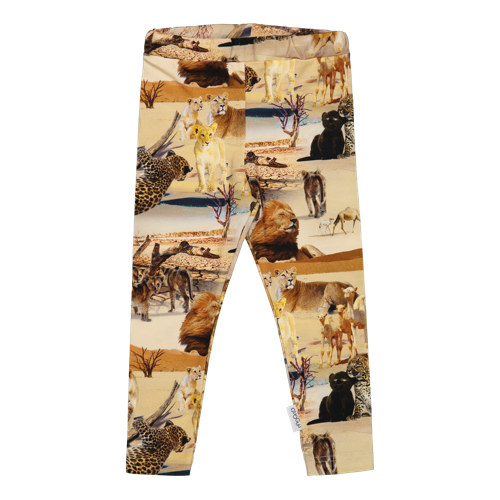 Gugguu SS20 Print Leggings Safari Ride