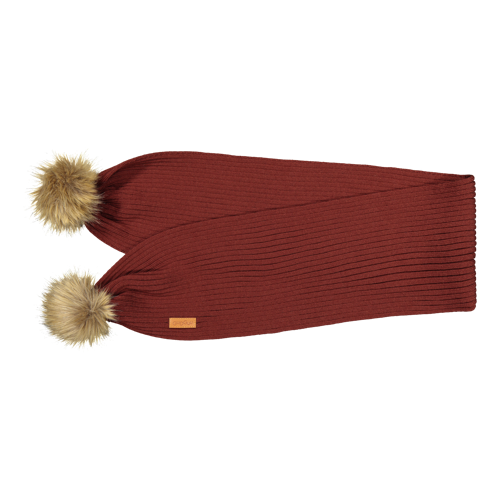 Gugguu AW19 Furry Scarf Bark Brown