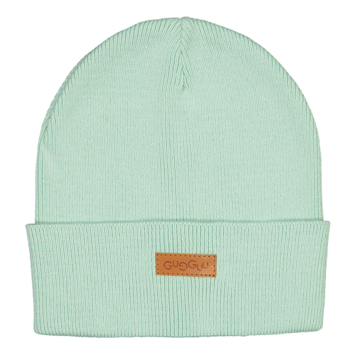 Gugguu SS19 Basic Knitted Beanie Green Vine