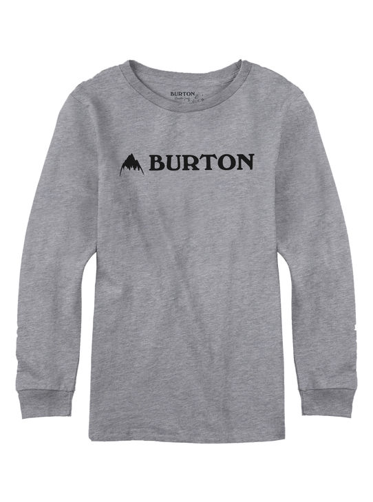 Burton T-Paita LS Gray Heather