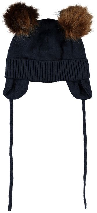 Name It Nbmmoe Knit Hat Dark Sapphire
