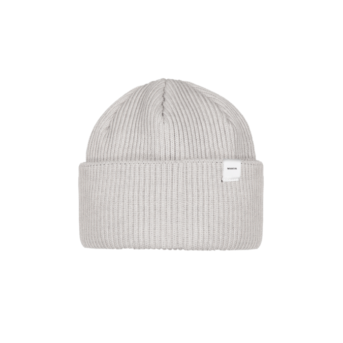 Makia Merino Cap Onesize Light Grey