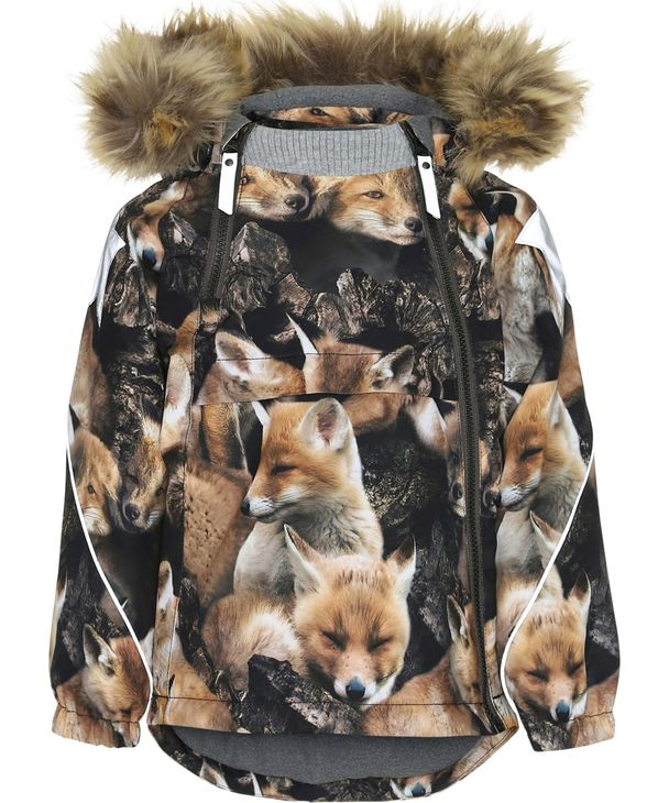 Molo Kids AW19 Hopla Fur Fox Camo