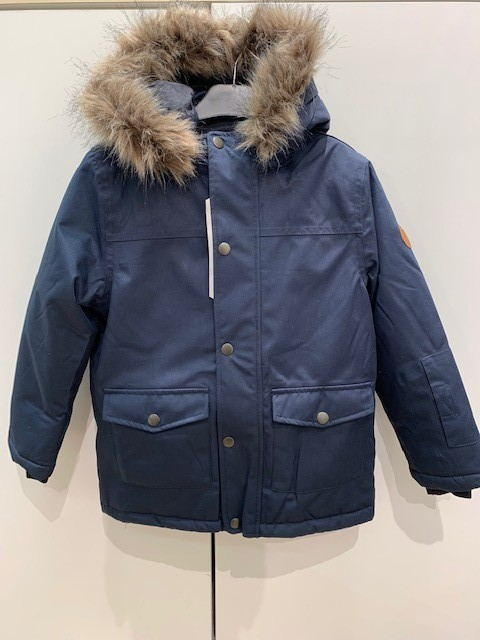 Name It Nkmsnow10 Jacket 1Fo Dark Sapphire