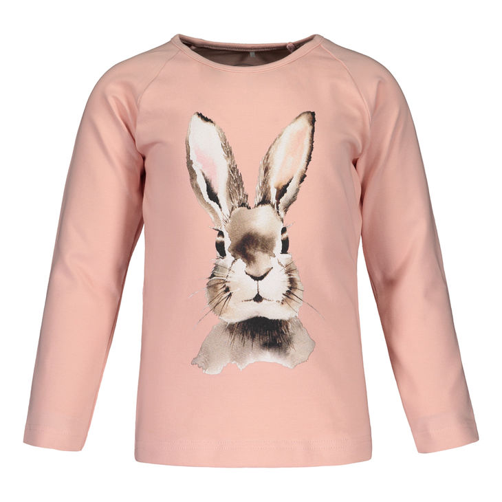 Metsola AW19 Bunny Pink Placement T-Shirt LS