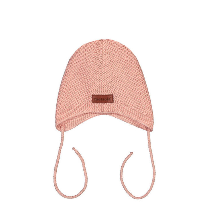 Metsola SS20 Cotton Knitted Mini Hat Powder Puff