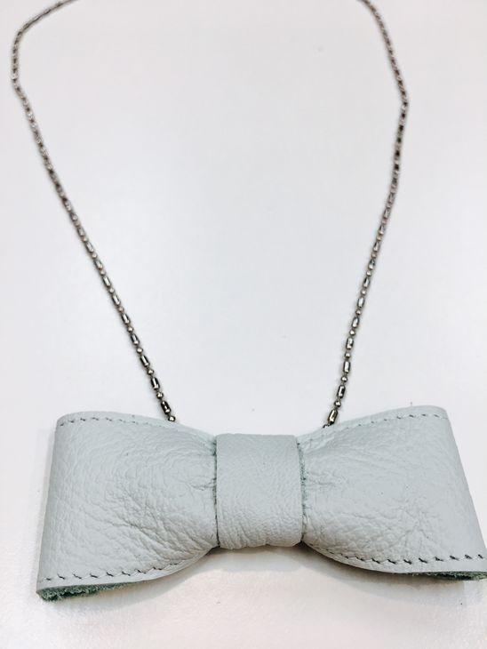 For Minis And Mommies The Bow Necklace Mint