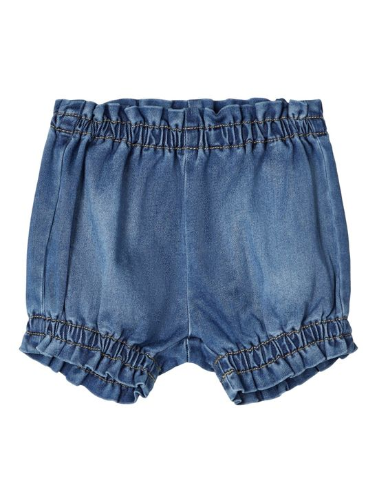 Lil' Atelier Gtora Losee Shorts Medium Blue Denim