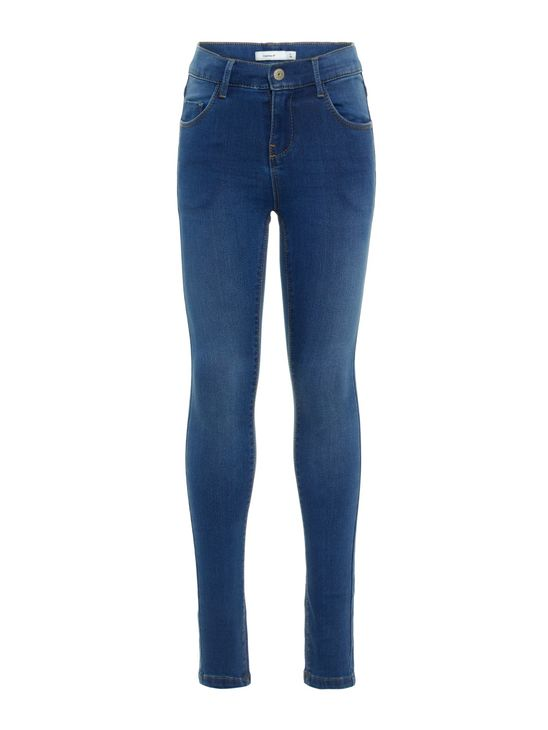 Name It Nkfpolly Dnmzascha Pant Medium Blue Denim