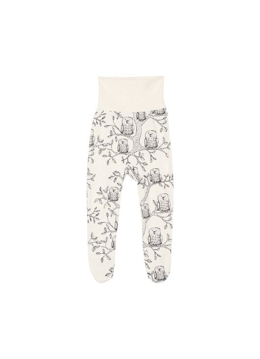 Aarrekid Baby Pants W/Foot Owls