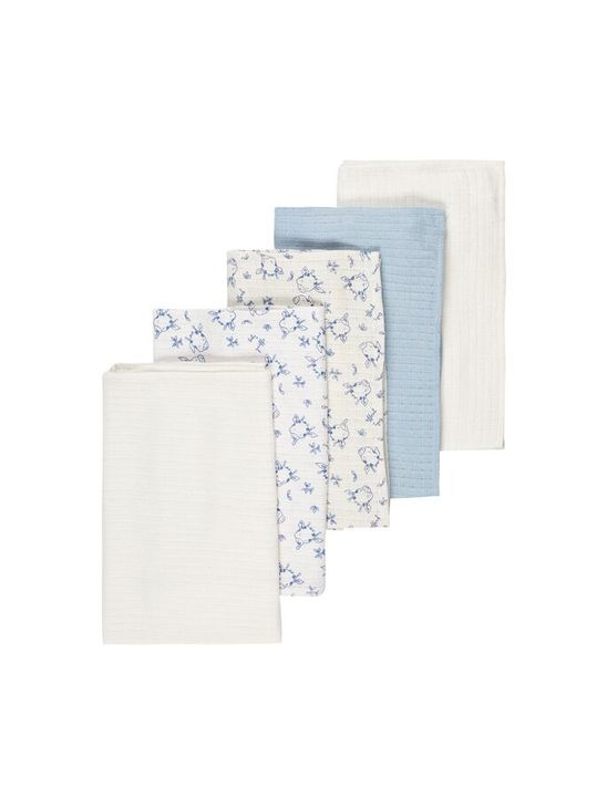 Name It Nbmnapsile 5P Nappies Blue Fog