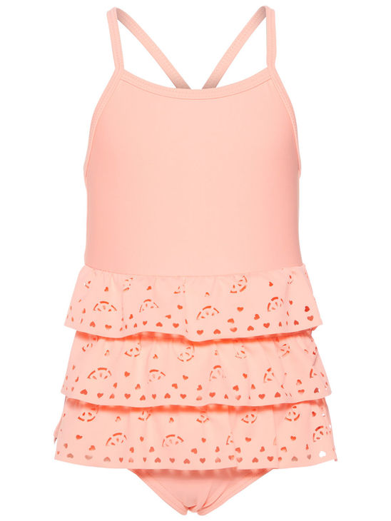 Name It Nmfzulisa Swimsuit-Neon Salmon Rose