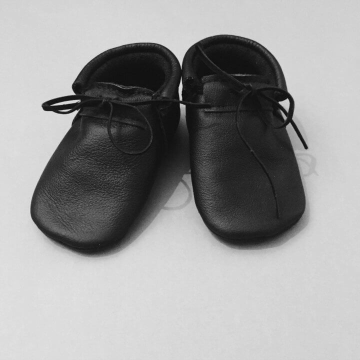 FMAM Moccasins Back To Basic All Black