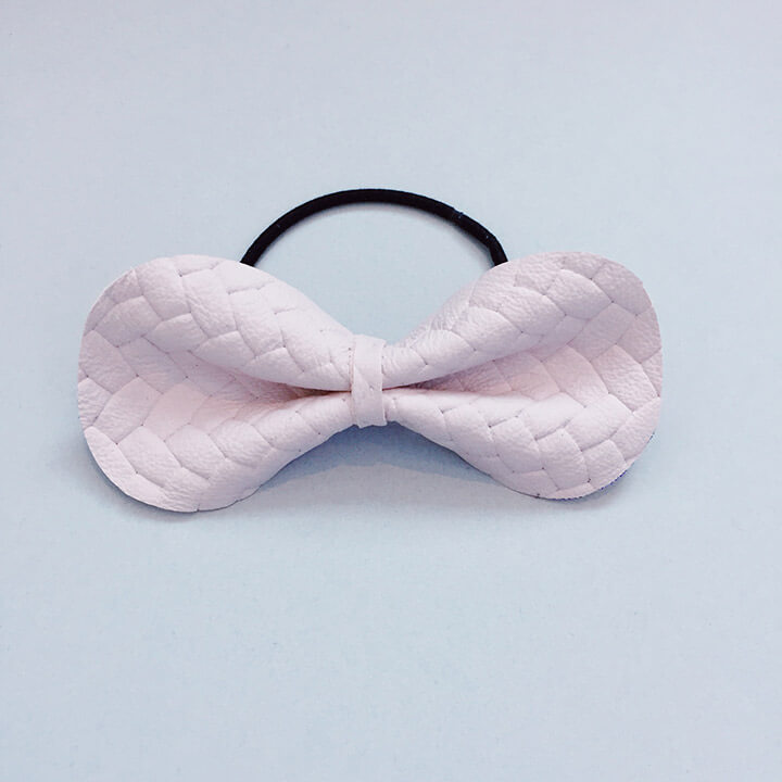 For Minis And Mommies Mice Mice Hairband Braids Pale Rose