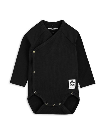Mini Rodini AW18 Basic Wrap Body Black