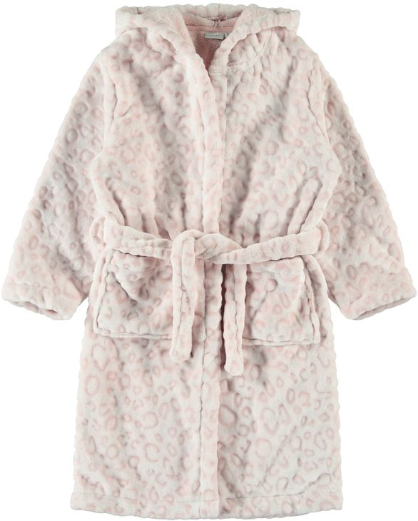 Name It Nkfreetah Bathrobe Silver Pink