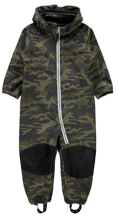 Name It Nmmalfa Softshell suit Forest Fo June Bug
