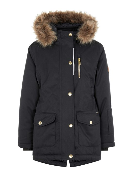 Name It Nkfsnow10 Jacket 1Fo Noos Black