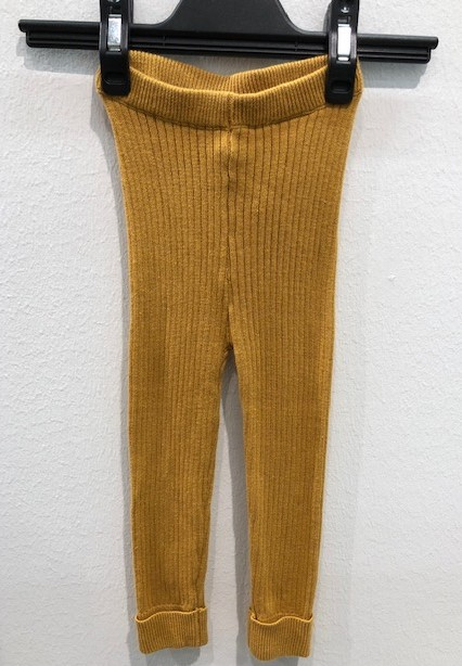 Name It Nmfnora Knit Legging Amber Gold