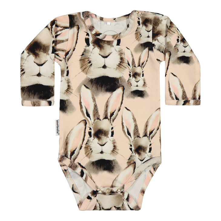 Metsola AW19 Body Ls Bunny Pink