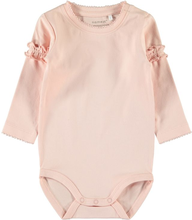 Name It Nbfbefrill Ls Body Strawberry Cream