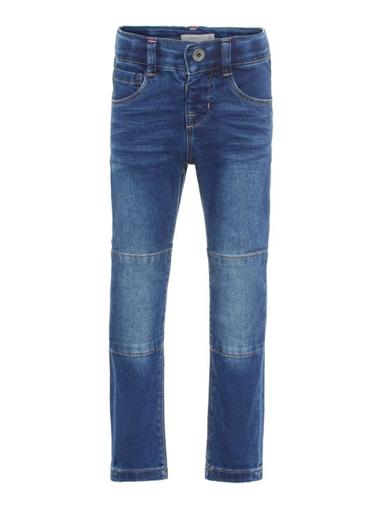 Name It Nmmsilas Dnmatimon Pant Medium Blue Denim