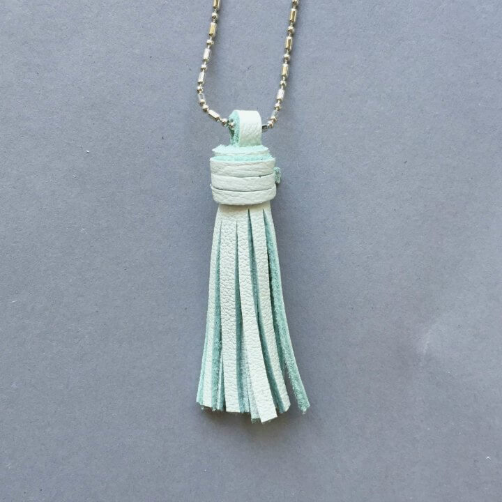 For Minis And Mommies Necklace Mint