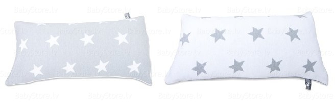 Baby's Only Pillow Grey-White